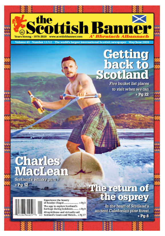 May - June Issue of the Scottish Banner