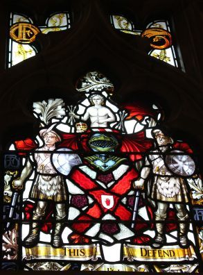 2014 Top of McF stained glass window in Derry Guild Hall.jpg